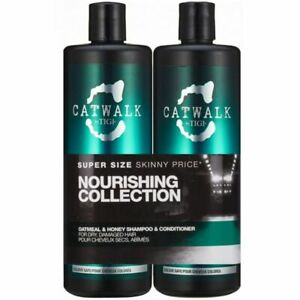 Tigi Catwalk Oatmeal & Honey Tween Duo Shampoo 750ml + Conditioner 750ml (13,80€