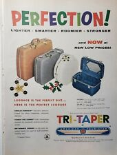 Lot of 3 Vintage American Tourister Luggage Print Ads Perfection!