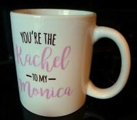 Friends Rachel and Monica Coffee Mug