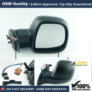 Electric Wing Mirror Unit For Peugeot Partner FITS To 2012 to 2018, RHS