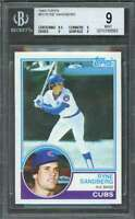 1983 topps #83 RYNE SANDBERG chicago cubs rookie card BGS 9 (8.5 9 9 9)