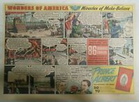 Prince Albert Tobacco Ad: Wonders of America Hollywood ! from 1940's 11x15 in