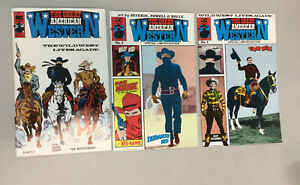 Lot Of 3 The Great American Western 1 2 3 AC comics 1988