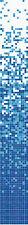 Glasmosaik weiss blau Verlauf Duschwand BADZIMMERWAND Mosaikfliese  WB300-0406