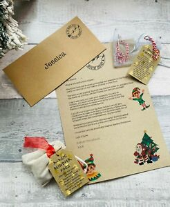 Christmas Eve Box Fillers Kit, Letter From Santa, Magic Santa Key Reindeer Food