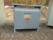 Square D electrical Transformer 3 phase Cat#30T8H 600-208y120 30kva  warranty!