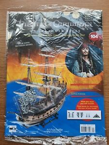 Hachette Pirates of the Caribbean Build the Black Pearl Pirate Ship issue 104