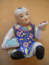 Statue porcelaine chine enfant / figure porcelain china figurine chinese vintage