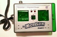 RARE R/C MICROSIZERS HOBBICO 24MHZ TRANSMITTER WITH INTEGRATED CHARGER 2001 TOMY