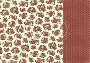 """Pion Design - Let's Be Jolly - CHRISTMAS FLORALS - 12x12"""" d/sided paper"""