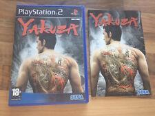 PS2:    YAKUZA       PAL    FR