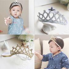 Bébé Fille Enfant Bandeau Princesse Couronne Serre-tête Cheveux Fête Accessoire