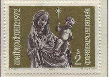 """Österreich Austria 1405 Weihnachten """"Muttergottes mit Kind"""" - v.  Seeon, 1972 **"""
