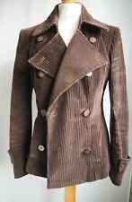 Coat 12 Brown Cord Per Una