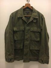 Engineered Garments HBT Herringbone Japan Military Army Jacket Distressed S USA