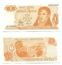 ARGENTINA NOTE 1 PESO MASTROPIERRO-IANNELLA B# 2302 SERIAL B P 287 XF