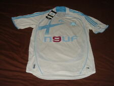 Olympique Marseille Soccer Jersey Adidas Top Football Shirt Maglia Maillot NEUF