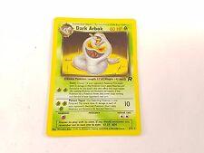 Pokemon TCG Card Team Rocket Dark Arbok 2/82 Rare Holo