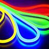 110V LED Flex Neon Rope Light Waterproof Wedding Party Garden DIY Sign Decor USA