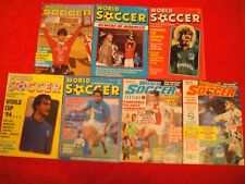 WORLD SOCCER x8 ISSUES 1985 - 1996