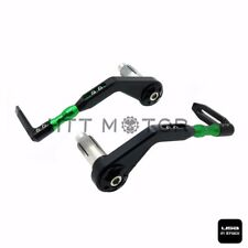 "CNC 3D Lever Guard Protector 22mm 7/8"" Bar End Brake Clutch For Yamaha YZF R1 R6"