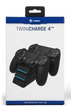 SnakeByte Twin Charge 4 Controller Charger - Black
