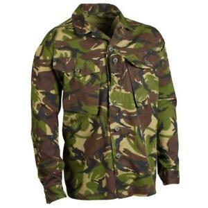 British Army - Military - Combat Jacket Woodland DPM Camo Shirt - New & Sealed