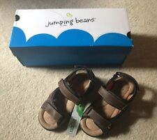 Jumping Beans Boy's Brown Sandal's Size 11 M - NEW IN BOX