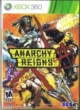 Anarchy Reigns (Microsoft Xbox 360, 2013)  Factory Sealed Cellophane