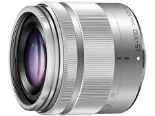 BRAND New Panasonic Lumix 35-100mm Lente f/4-5.6 Micro 4/3 Plata Whitebox en Reino Unido