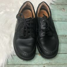 ECCO Mens Shoes 42 Black Leather Shoes Laces