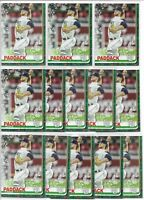 2019 Topps Holiday Walmart Chris Paddack (13) Card Rookie Lot #HW181 Padres RC
