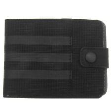 Adidas Performance Wallet Pocket 3 Stripe Change Notes Cards Slot Money Mens New