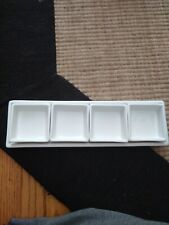 Sushi sauce sampler dish, by ten strawberry Street, crate and barrel, nwt