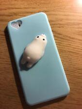 Squishy 3D Soft Silicone Cat Panda TPU Phone Case Cover for iPhone 6SPlus 7 Plus
