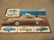 1973 Chevrolet Nova SS Dealer Sales-Showroom Brochure, Super Sport, Coupe