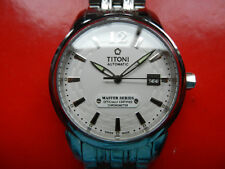 Swiss Titoni Master Series Date Automatic Officially Certified Chronometer Mint