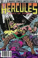 Hercules Comic Issue 1 Limited Series Bronze Age First Print 1982  Layton Parker