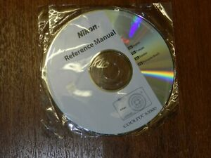 New Nikon OEM Genuine CD with User's Guide Instructions Manual for Coolpix S3500