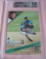1994 Sportflics Rookie/Traded R/T full set Alex Rodriguez RC graded BGS 8.5 PSA