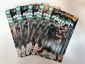 Batman # 99 Cover A Joker War Lot Of 5 🚨🚨🚨