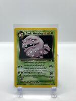 Dark Weezing 14/82 Team Rocket HOLO RARE Pokemon Card Near Mint