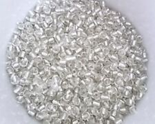300g 6/0 4mm Glass Seed Beads CLEAR SILVER LINED ( approx 4,500pcs ) D01