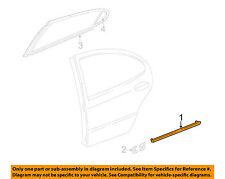 NEW Dodge OEM Cinnamon Glaze Metallic Rear Door Side Molding 5018315AA INTREPID