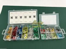 2 Boxes Car Fuses 120 Auto Fuse Cars Vans & 80 Fuses Automotive Mini Blade Fuses