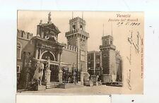 ANTICA CARTOLINA VENEZIA FACCIATA DELL ARSENALE 1903