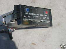 1981-1989 CADILLAC ELECTRONIC CLIMATE CONTROL,CLIMATE CONTROL,4 TYPES,COOLING