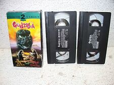 Godzilla Vs. Megalon / King of the Monsters 2 Pack VHS Video Out of Print