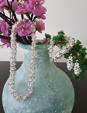 Handmade with Swarovski Crystals & Pearls, Necklace, Bracelet & Earrings Sets