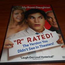 "My Boss's Daughter (DVD, 2004, ""R"" Rated) Ashton Kutcher, Tara Reid Used Bosses"
